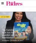 La Familia Cool, by Dania Santana, featured in Ser Padres magazine