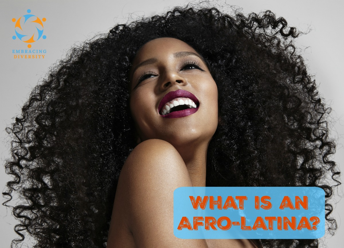 What Is An Afro Latina Americanlatinos Embracing