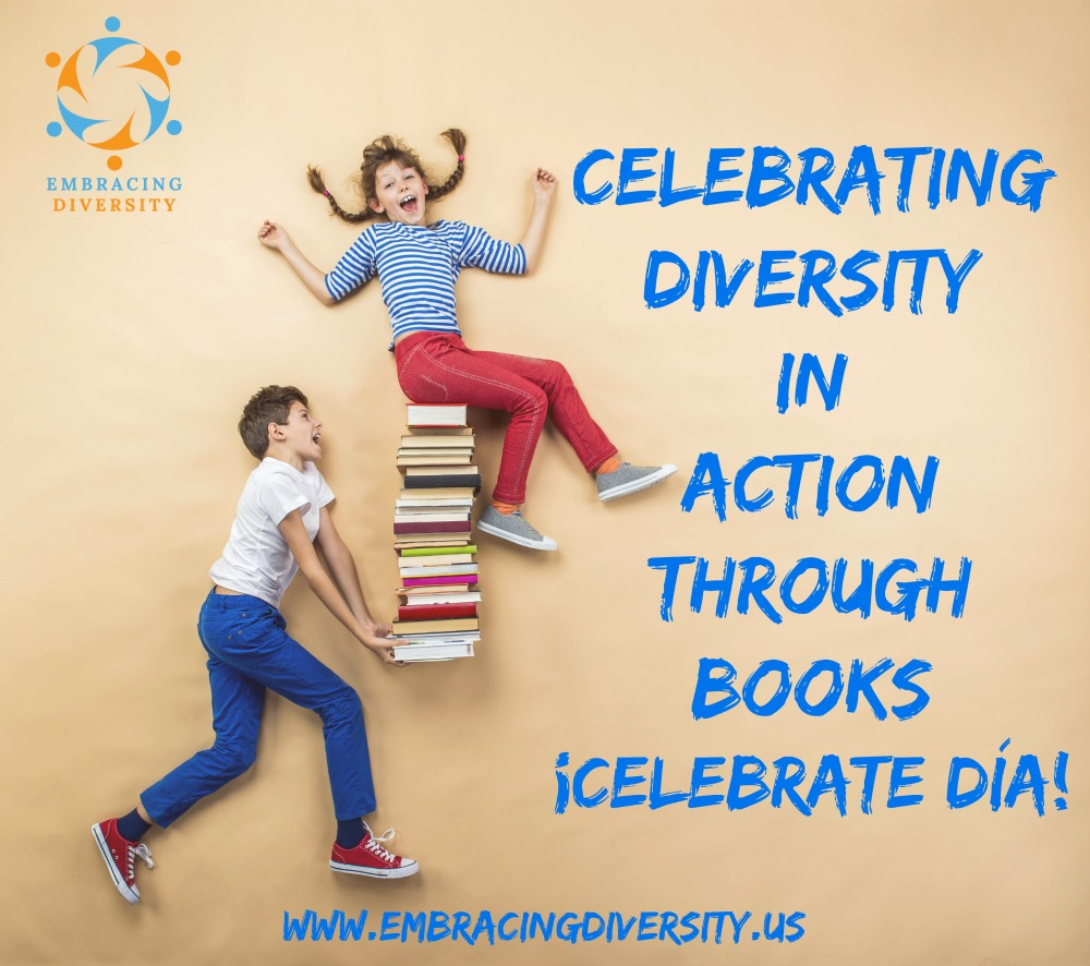 On April 30th, we will be celebrating DIA at home by reading some books and doing some fun activities. Read details #OnTheBlog.